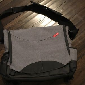 Skip Hop All in One Messenger Diaper Bag